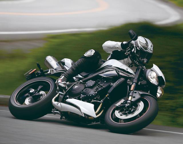 画像: トライアンフ「スピードトリプルRS」試乗インプレ - webオートバイ