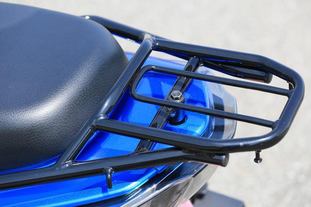 画像2: いまイチオシの原付二種125cc通勤スクーター【スズキ編】コンパクトなボディにこだわりが凝縮された「スウィッシュ」