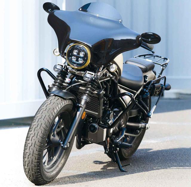 画像: レブル250で大陸横断ツーリング⁉ キジマがフルカスタムした新型Rebel250「トランスコンチネンタルスタイル」がすごい! - webオートバイ