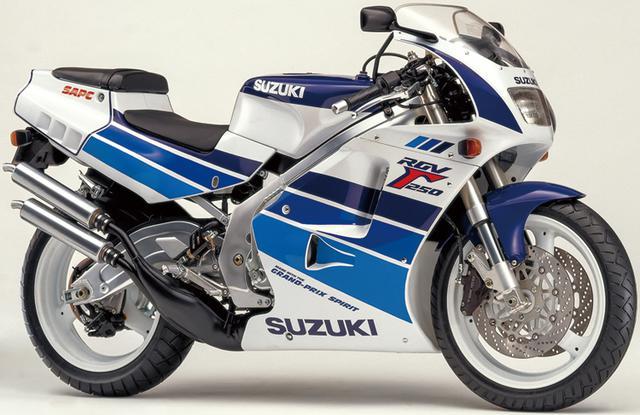 画像1: スズキRG250Γヒストリー(RGV250Γ・VJ22A編 1990-1995)