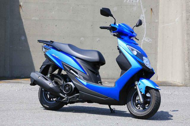画像: SUZUKI SWISH(スウィッシュ) 総排気量:124cc メーカー希望小売価格(税込):32万4500円