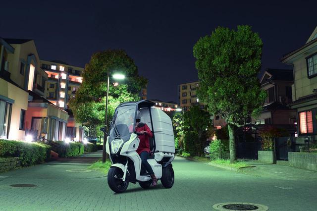 画像: 日本の新しい電動バイクメーカー「アイディア」が原付一種・二種相当の新型車〈AAカーゴ〉を販売開始 - webオートバイ