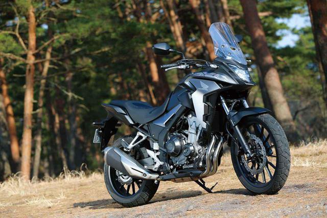 画像: Honda 400X 総排気量:399cc メーカー希望小売価格:82万6100円 ※写真のカラーは2019年モデル