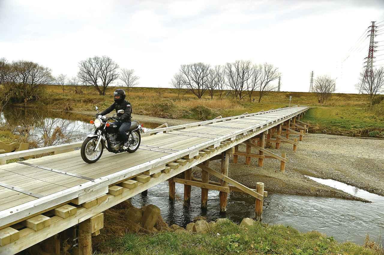 画像: 埼玉県の沈下橋「島田橋」