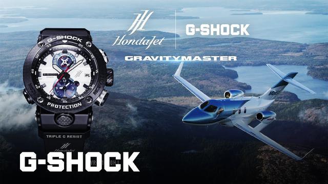 画像: HondaJet コラボレーションモデルプロモーションビデオ: CASIO G-SHOCK www.youtube.com