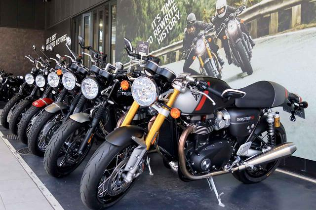 画像1: 【2020年上半期】トライアンフで一番売れたバイクは何? 旗艦店「トライアンフ東京」で聞いてきました! - webオートバイ