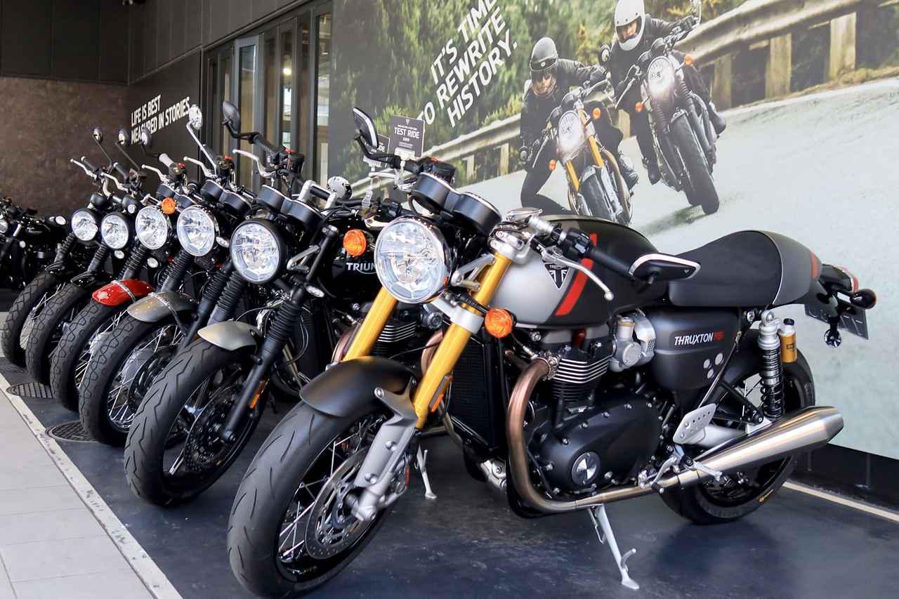 画像: 【2020年上半期】トライアンフで一番売れたバイクは何? 旗艦店「トライアンフ東京」で聞いてきました! - webオートバイ