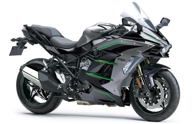 画像: Kawasaki Ninja H2 SX SE (2020年モデル) 税込価格:244万2000円 総排気量:998cc