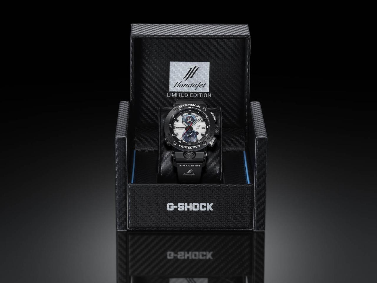 画像4: 各部に「HondaJet」の要素を盛り込んだアナログタイプのG-SHOCK