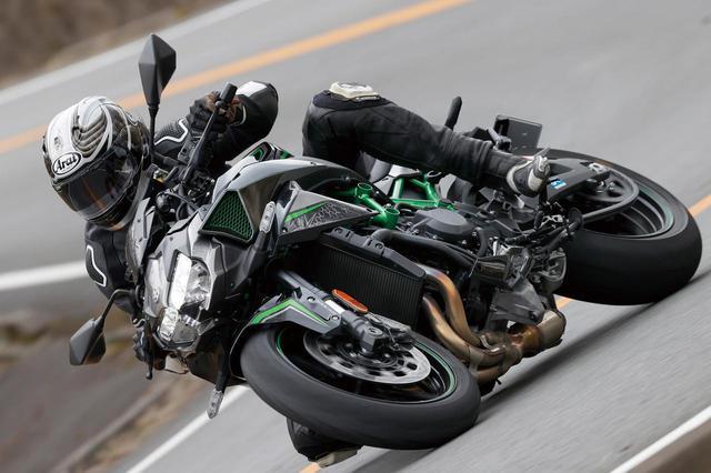 画像: カワサキ「Z H2」(2020年)試乗インプレ|スーパーチャージャーを搭載したフラッグシップ〈Z〉の走りと装備を徹底解説 - webオートバイ
