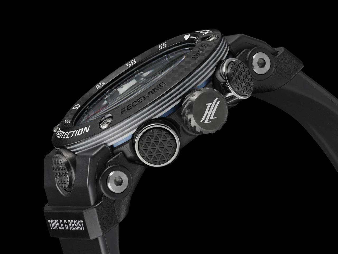 画像2: 各部に「HondaJet」の要素を盛り込んだアナログタイプのG-SHOCK
