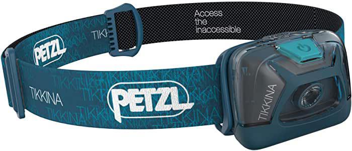 画像: Amazonで価格をチェック!   PETZL(ペツル) TIKKINA ティキナ E91AB 150ルーメン (ブルー)   ペツル(PETZL)   ヘッドライト