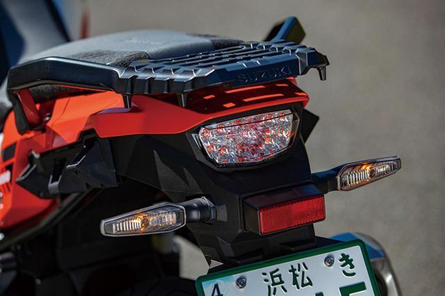 画像: テールランプもLEDで、スタイリッシュなデザインと優れた視認性を実現。XTはクリアレンズで、スタンダードモデルは赤いレンズ。