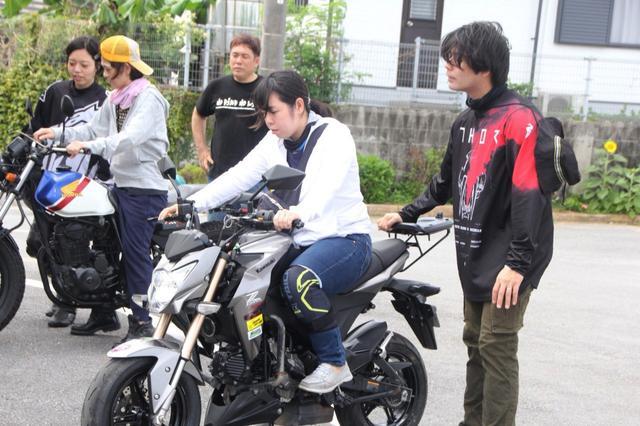 画像4: 沖縄でバイクde女子会!