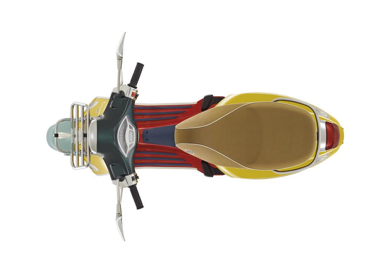 画像3: 【新車】ベスパ「プリマベーラ」に新鋭のアメリカ人デザイナーとコラボした特別限定車「プリマベーラ・ショーン・ワザースプーン」が登場!