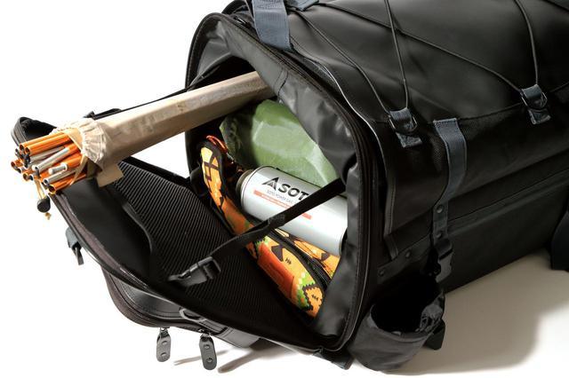 画像3: キャンプライダーを支え続ける伝統の「キャンピングシートバッグ2」