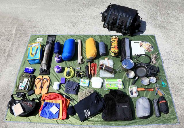 画像2: キャンプライダーを支え続ける伝統の「キャンピングシートバッグ2」