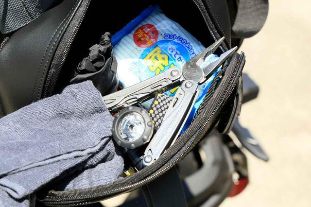 画像5: キャンプライダーを支え続ける伝統の「キャンピングシートバッグ2」