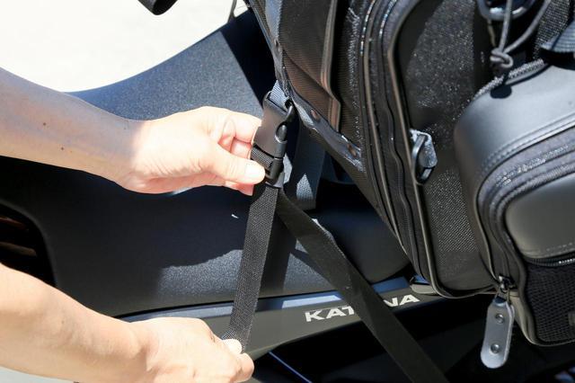画像7: キャンプライダーを支え続ける伝統の「キャンピングシートバッグ2」