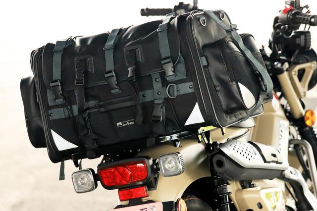 画像1: キャンプライダーを支え続ける伝統の「キャンピングシートバッグ2」