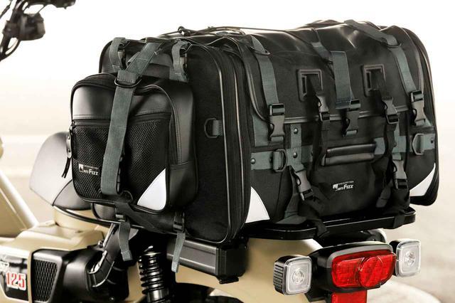 画像10: キャンプライダーを支え続ける伝統の「キャンピングシートバッグ2」