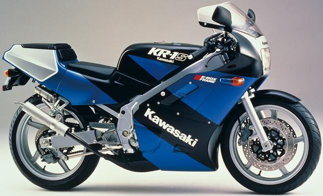 画像5: カワサキKR250・KR-1ヒストリー カワサキの2ストローク250ccスポーツバイクを解説!