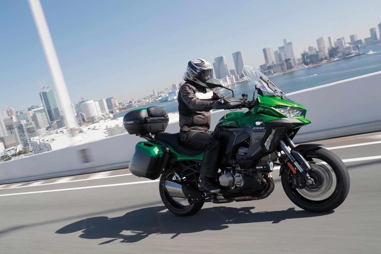 Images : 1番目の画像 - カワサキ「VERSYS 1000 SE」 - webオートバイ