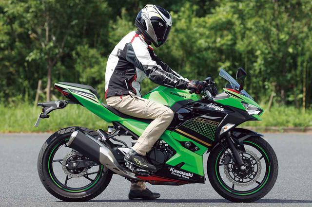 画像: Kawasaki Ninja 250 シート高:795mm