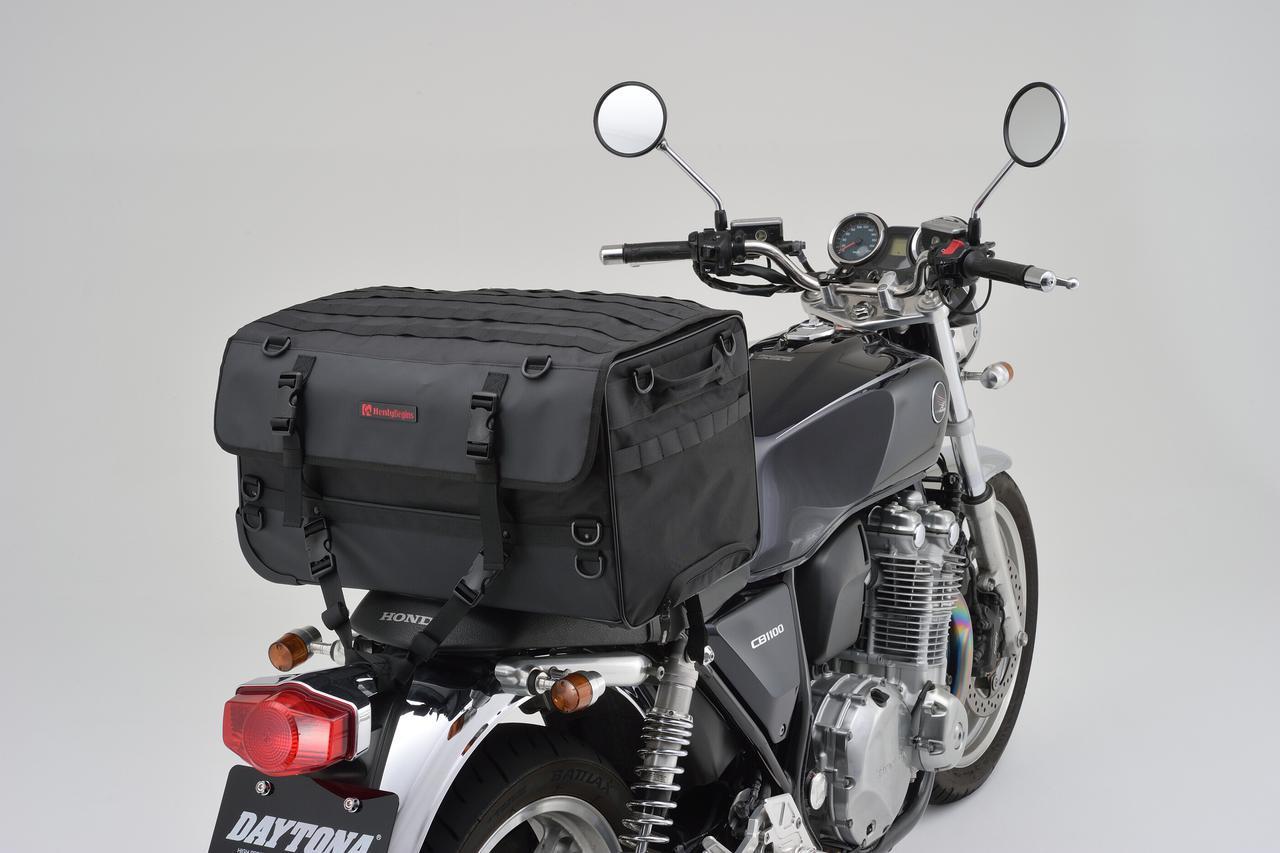 画像: 積みやすくて持ち運びしやすい、あらゆる旅行で役立つトラベルバッグ