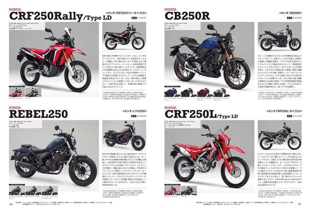 画像4: 最新の250ccバイクを徹底網羅! いま新車で買える軽二輪の情報は「オートバイ 250cc購入ガイド2020」で!