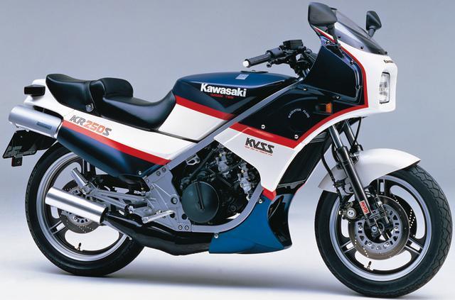 画像2: カワサキKR250・KR-1ヒストリー カワサキの2ストローク250ccスポーツバイクを解説!