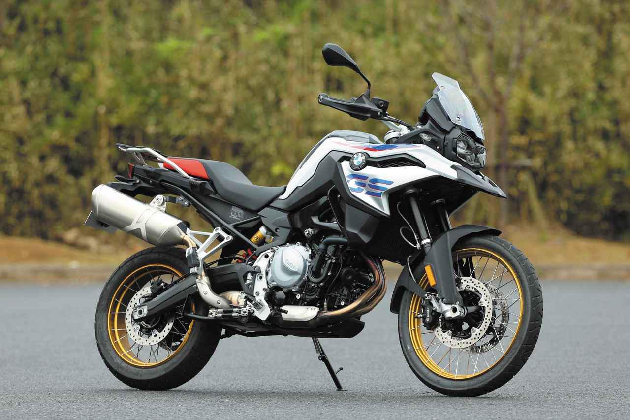 画像: BMW F 850 GS メーカー希望小売価格:税込156万1000円〜181万3000円 エンジン形式:水冷4ストDOHC4バルブ並列2気筒 総排気量:853㏄ 最高出力:95PS/8250rpm 最大トルク:9.38㎏-m/6250rpm シート高:860㎜ 車両重量:236㎏ 燃料タンク容量:15L タイヤサイズ:90/90-21・150/70R17