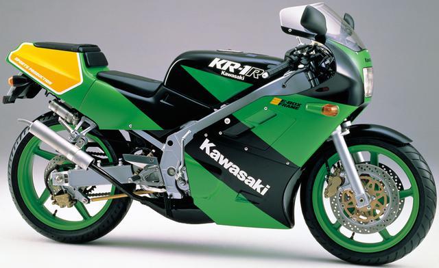 画像6: カワサキKR250・KR-1ヒストリー カワサキの2ストローク250ccスポーツバイクを解説!