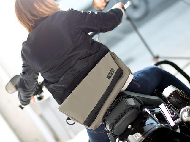 画像: 梅雨時に大活躍! 4種類の防水バッグがドッペルギャンガーから新発売 - webオートバイ