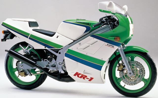 画像3: カワサキKR250・KR-1ヒストリー カワサキの2ストローク250ccスポーツバイクを解説!