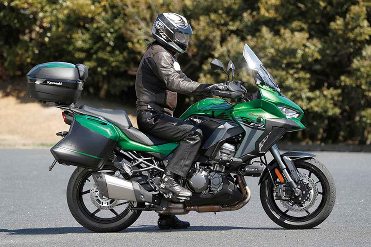 Images : 2番目の画像 - カワサキ「VERSYS 1000 SE」 - webオートバイ