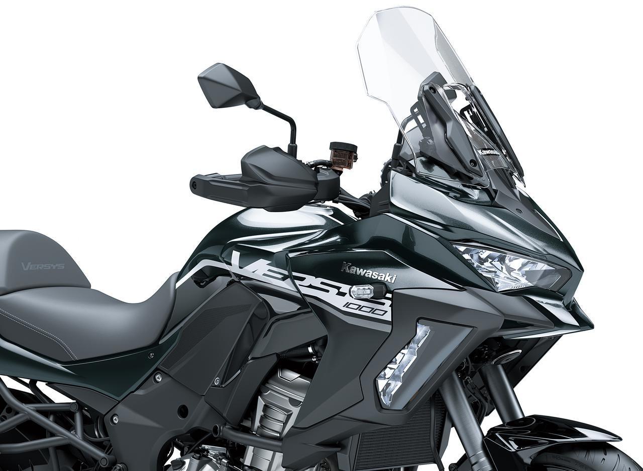画像: カワサキが「VERSYS 1000 SE」の2020年モデル情報 - webオートバイ