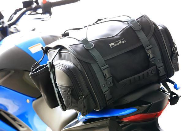 画像: 日帰り~1泊ツーリングにぴったりな「ミニフィールドシートバッグ」の紹介はこちら - webオートバイ