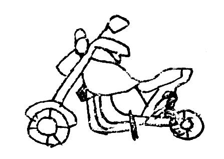 画像1: バイクのイラスト描けるのかな? 梅本まどかがチャレンジ!【梅日和 第28回】