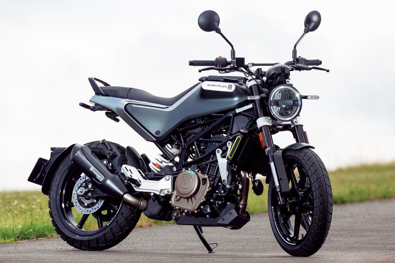 画像: Husqvarna Motorcycles Svartpilen 250 総排気量:248.8cc エンジン形式:水冷4ストDOHC4バルブ単気筒 メーカー希望小売価格:税込59万9000円