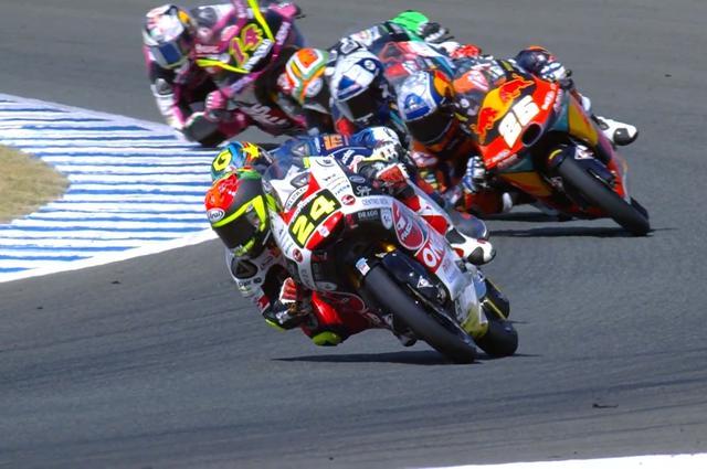 画像: 序盤からトップを譲らなかったタツキ 速いのはもちろん、強いレースでした!
