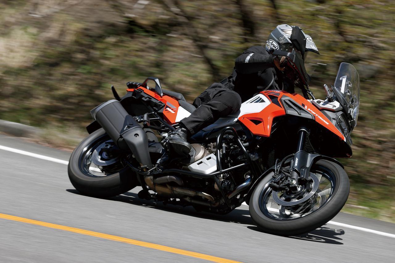 Images : 6番目の画像 - スズキ Vストローム1050XT - webオートバイ