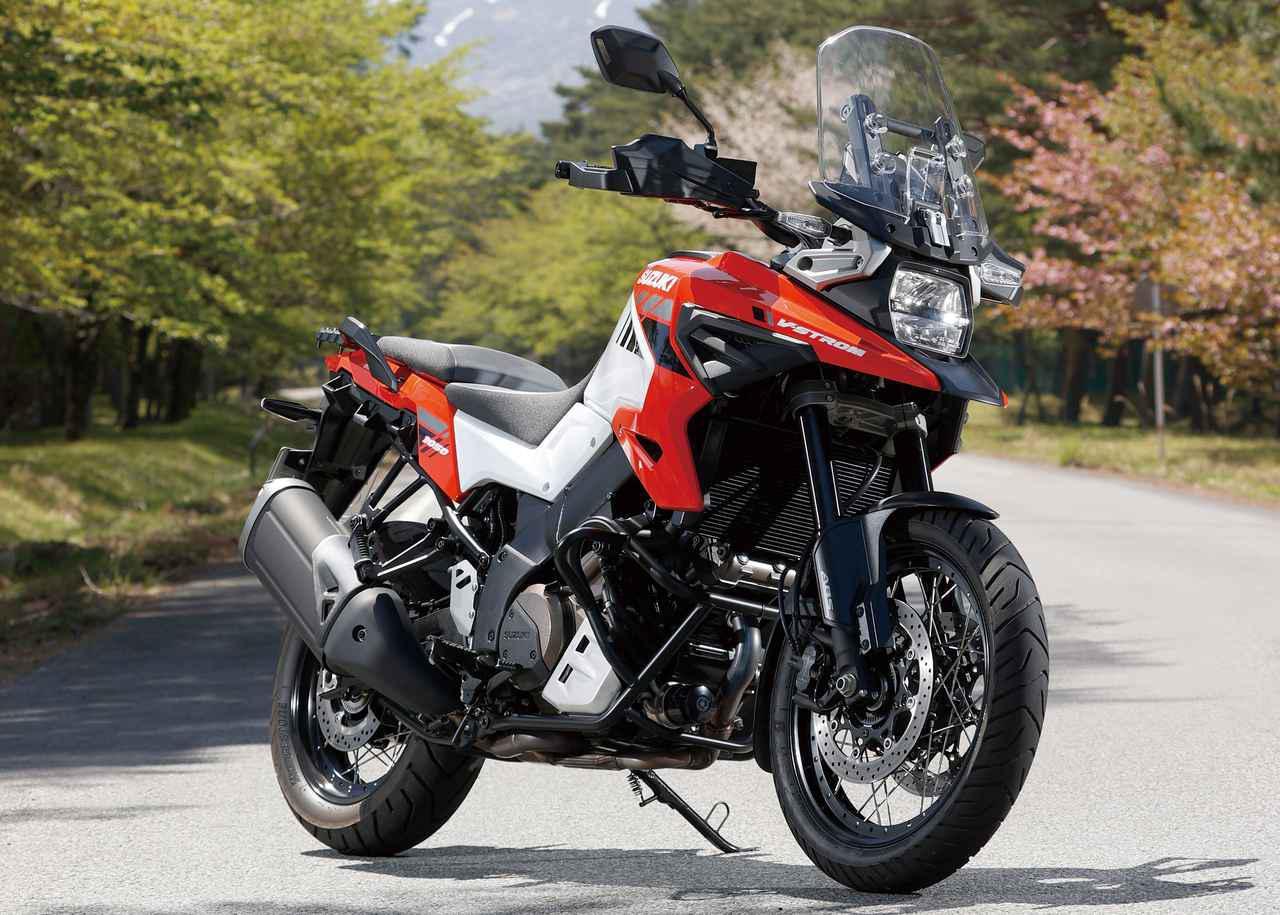 Images : 4番目の画像 - スズキ Vストローム1050XT - webオートバイ