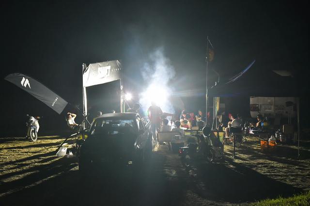 画像3: オフロードコースを走ってキャンプ。スーパーカブ90とスーパーカブ110で「びじばいぱにっくJAM1」に参加するのだ。初めてのオフロードコース走行編〈若林浩志のスーパー・カブカブ・ダイアリーズ Vol.28〉