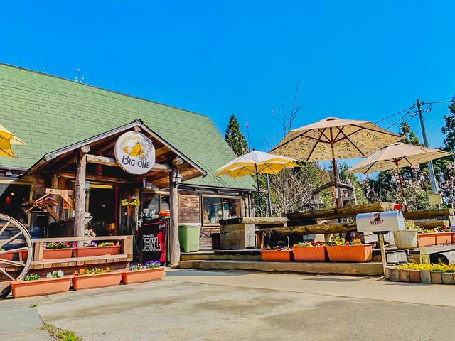 画像: 秘境カフェ | 千葉県大多喜町 | CafeBIGONEビッグワン | ハンバーガー