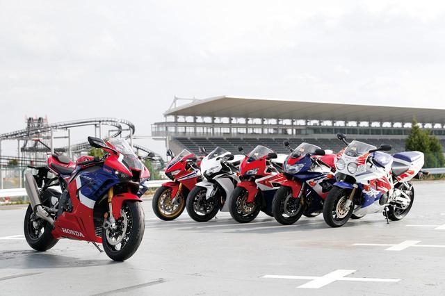 画像: CBR歴代モデルを比較 - webオートバイ