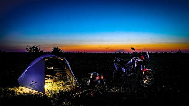 画像1: そして夕日もキレイ!