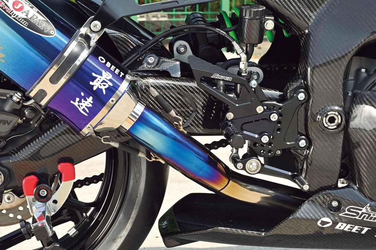 Images : 6番目の画像 - Kawasaki Ninja ZX-25R レースイメージカスタム車 - webオートバイ