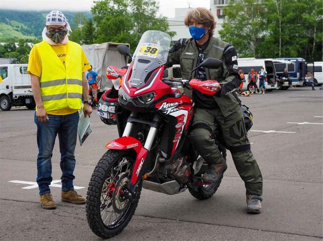 画像2: アフリカツインこそ「オフロードバイク」であって欲しい