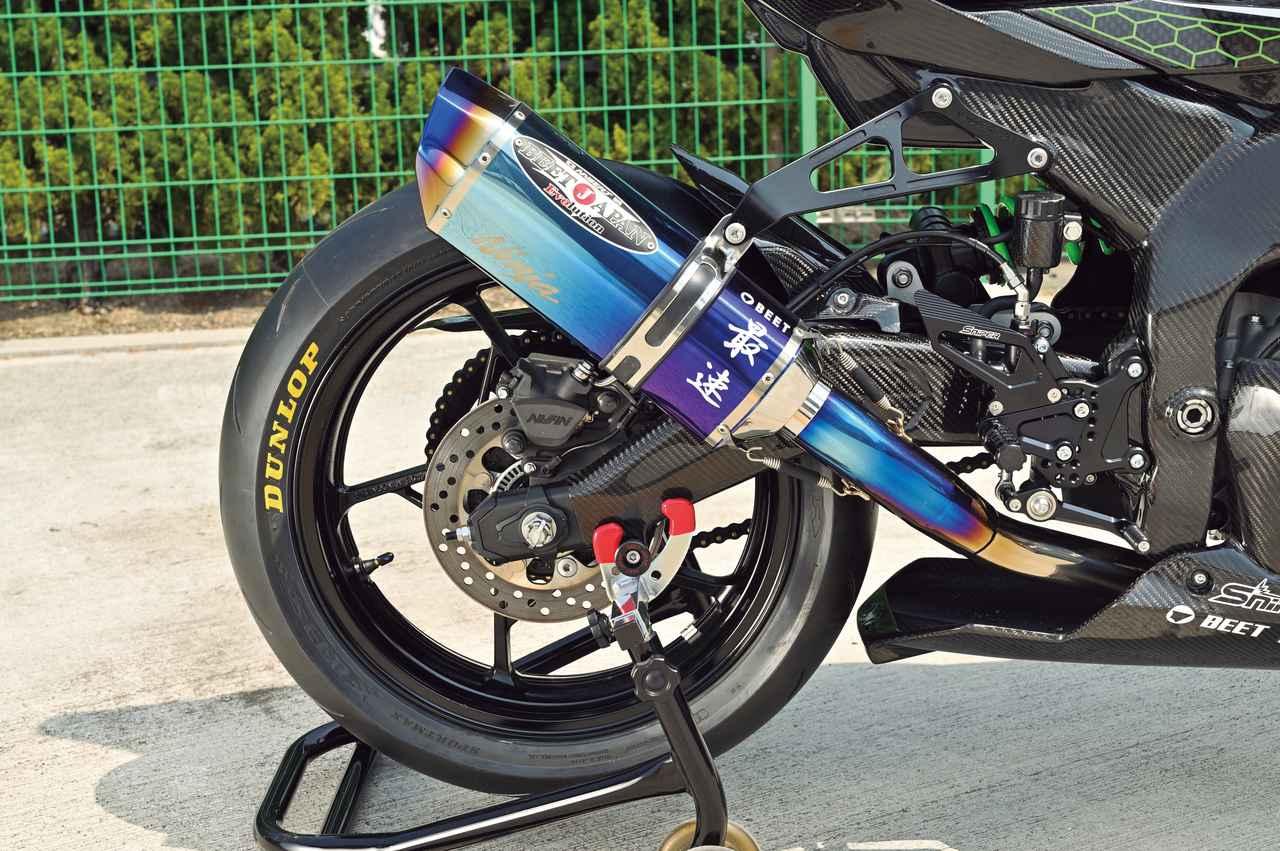 Images : 5番目の画像 - Kawasaki Ninja ZX-25R レースイメージカスタム車 - webオートバイ